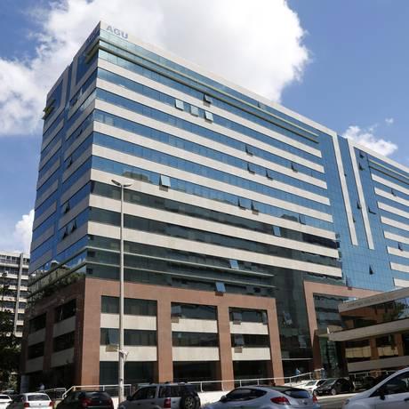 O prédio da AGU em Brasília Foto: Michel Filho / Agência O Globo