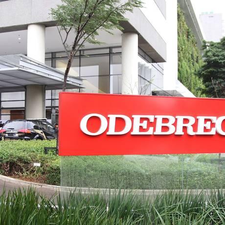 Sede da Odebrecht, em São Paulo Foto: Michel Filho / Agência O Globo