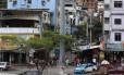 Um dos acessos para a comunidade da Rocinha