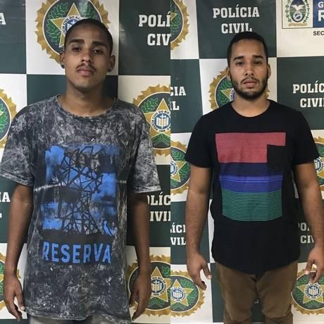Homens estavam com pistola na Praça de Heliópolis Foto: Divulgação/Montagem