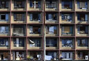 O Edificio Prestes Maia, maior ocupação vertical do Brasil Foto: Edilson Dantas / Agência O Globo