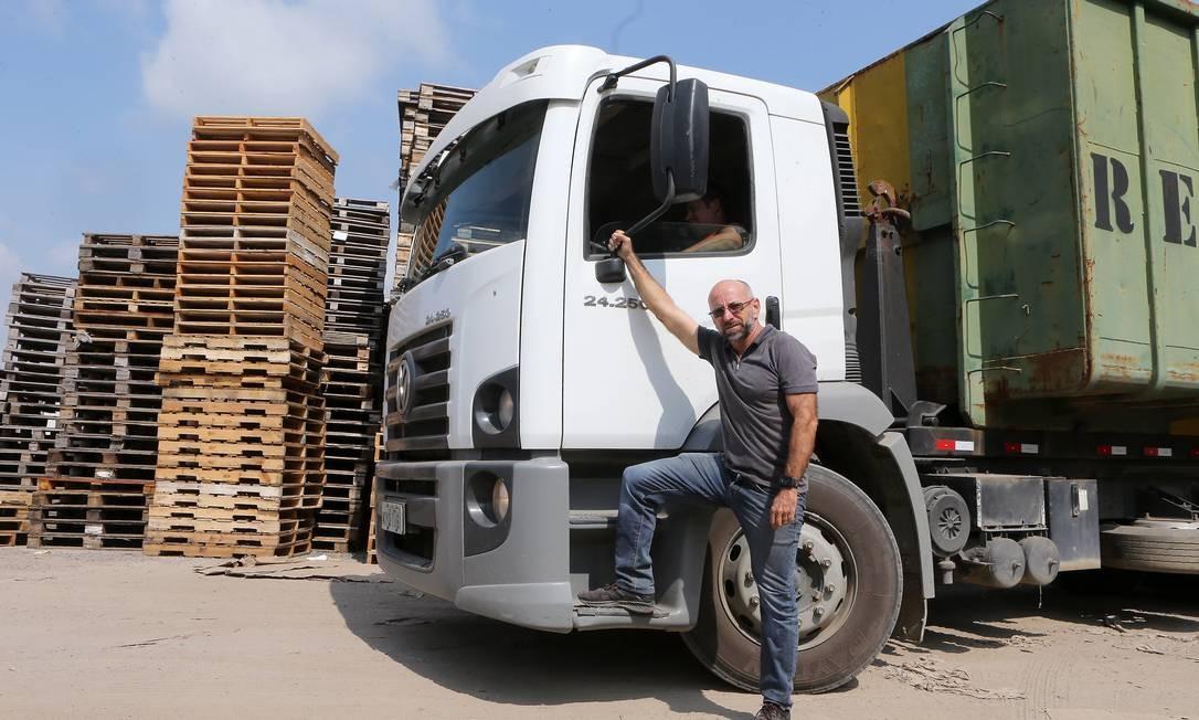 Alexandre Ferreira Salgado teve problemas com contrato de seguro de sua empresa de carga Foto: Guilherme Pinto
