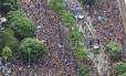 Cerca de 700 mil foliões acompanharam o Bloco da Preta este ano, no Centro do Rio