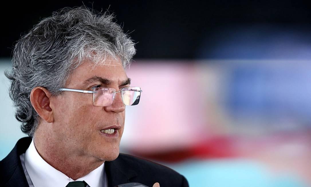 O ex-governador da Paraíba, Ricardo Coutinho Foto: Jorge William / Agência O Globo