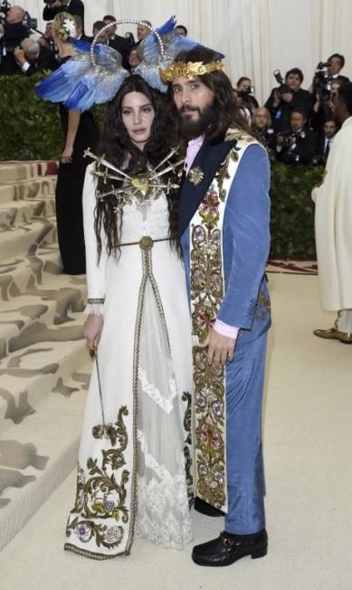 Lana Del Rey e Jared Leto Evan Agostini / Evan Agostini/Invision/AP