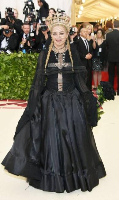 Madonna vestiu Jean Paul Gaultier Neilson Barnard / AFP