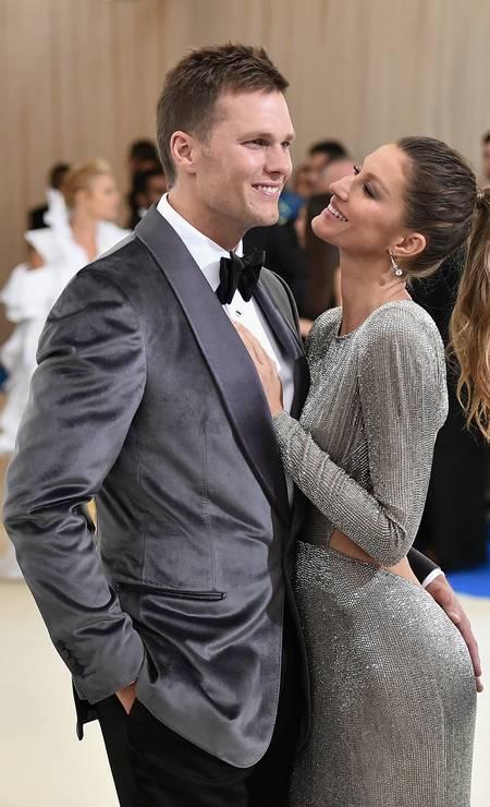 Tom e Gisele no baile de gala do MET do ano passado Foto: Mike Coppola / Getty Images for People.com