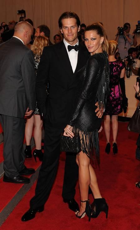 O casal no MET, em 2010 Foto: Larry Busacca / Getty Images