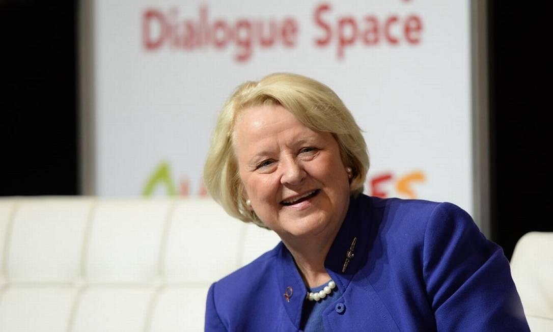Jan Beagle foi promovida a subsecretária-geral de administração da ONU e lidera a força-tarefa que lida com casos de assédio sexual Foto: Mal Fairclough/Unaids