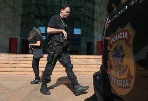 Polícia Federal atua em desdobramentos da Operação Greenfield Foto: ANDRE COELHO / Agência O Globo
