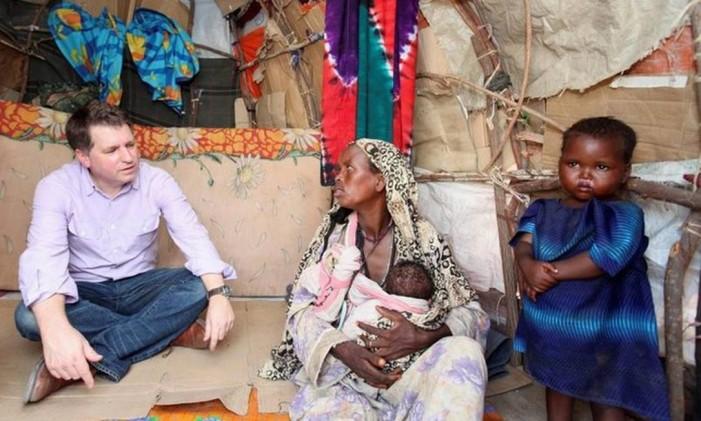 O ex-número 2 da Unicef, Justin Forsyth (à esquerda) Foto: | Reuters