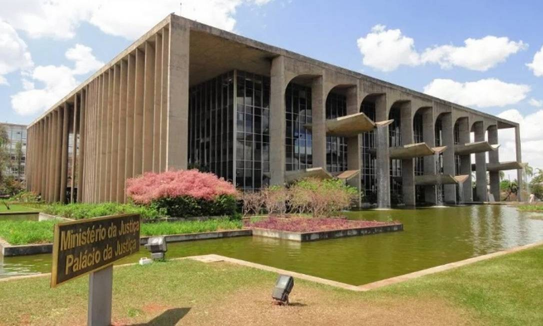 Prédio do Ministério da Justiça Foto: Reprodução