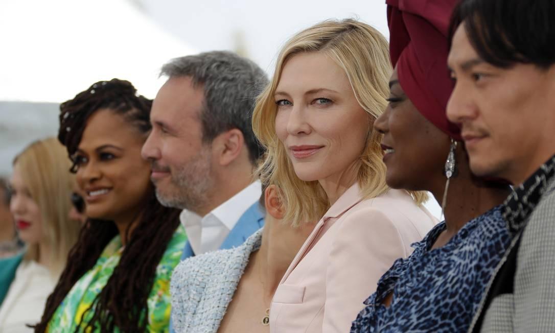 Atriz e produtora, Cate Blanchett dividiu sua carreira entre os palcos e as telas. Ela é casada com o dramaturgo Andrew Upton, e os dois foram diretores artísticos do Sydney Theatre Company, mais importante companhia de teatro australiana. Ela segue como diretora da companhia Foto: ERIC GAILLARD / REUTERS
