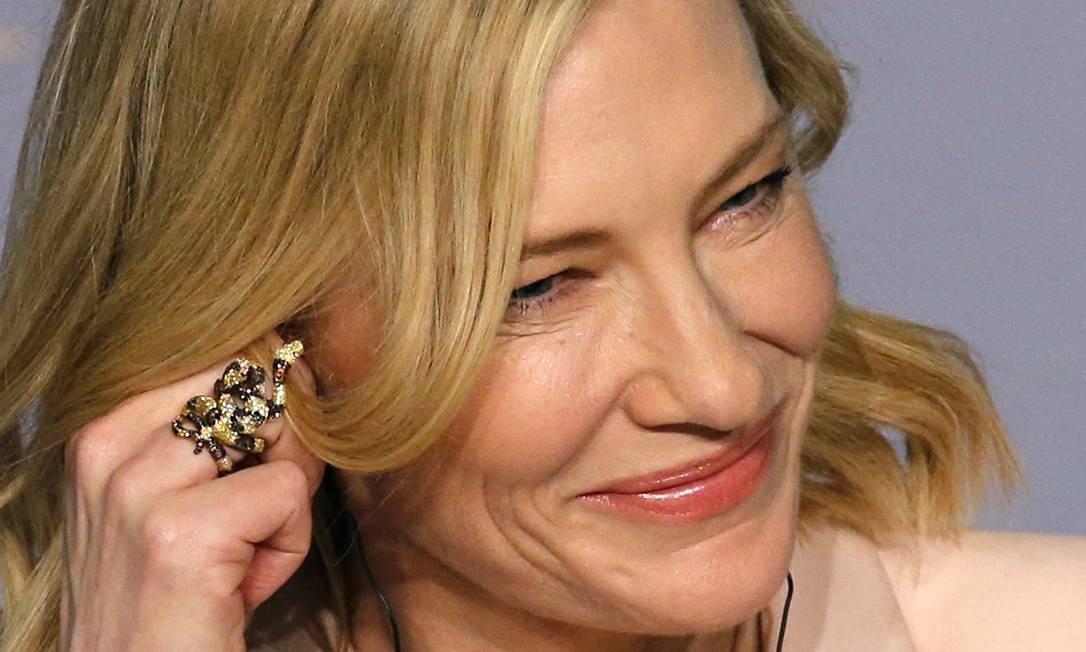 Presença frequente nas cerimônias do Oscar, a atriz australiana também costuma participar de festivais europeus de cinema, como Cannes e Berlim. REGIS DUVIGNAU / REUTERS