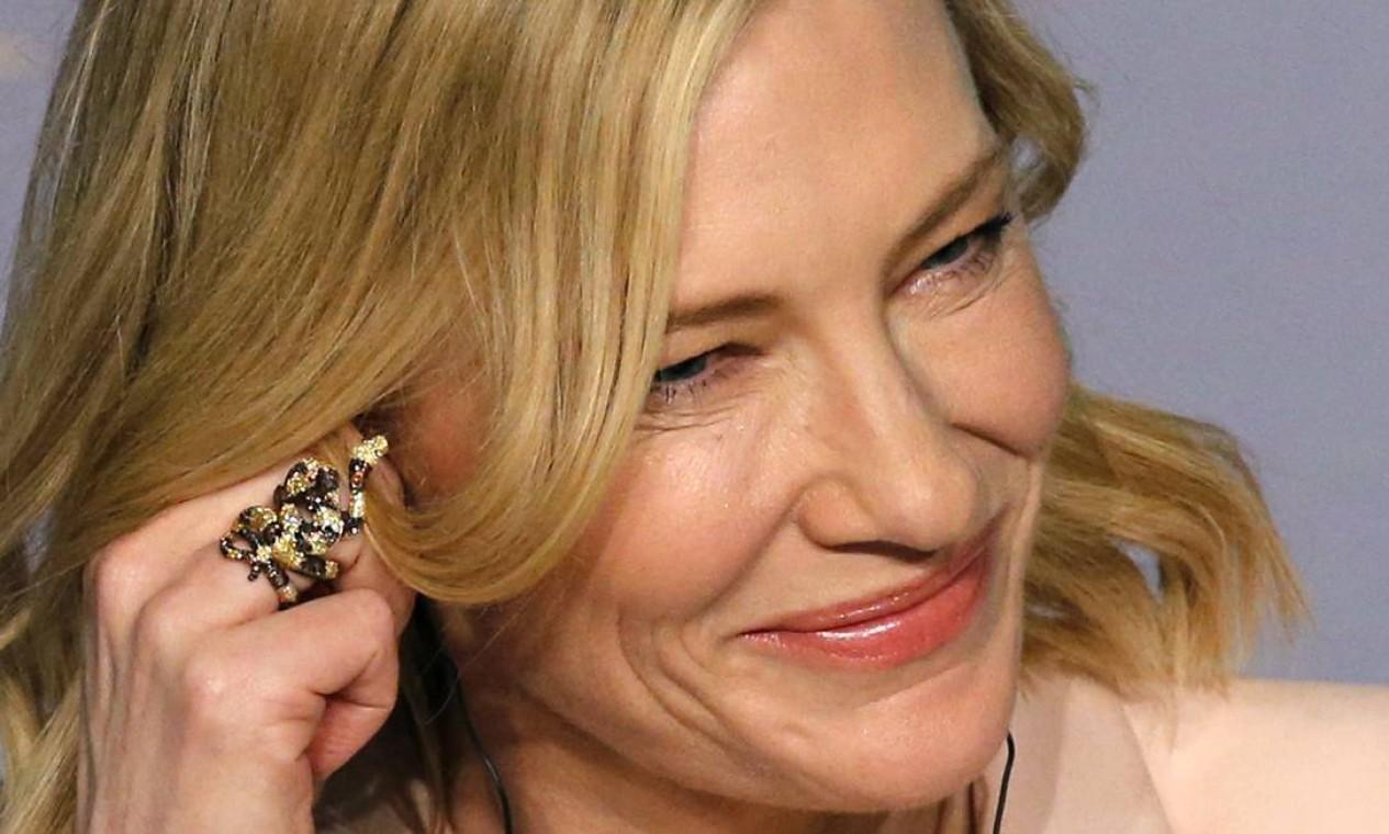 Presença frequente nas cerimônias do Oscar, a atriz australiana também costuma participar de festivais europeus de cinema, como Cannes e Berlim. Foto: REGIS DUVIGNAU / REUTERS