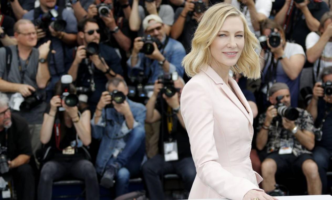 Além de participar de filmes de arte aclamados pela crítica, Blanchett também se tornou uma das atrizes mais populares de Hollywood, graças a sua participação em blockbusters como a trilogia 'O senhor dos anéis' e, mais recentemente, 'Thor: Ragnarok' Foto: ERIC GAILLARD / REUTERS
