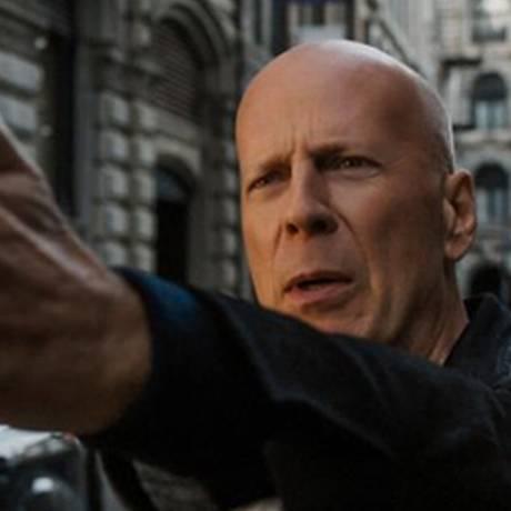 Cena do filme 'Desejo de matar', com Bruce Willis Foto: Divulgação