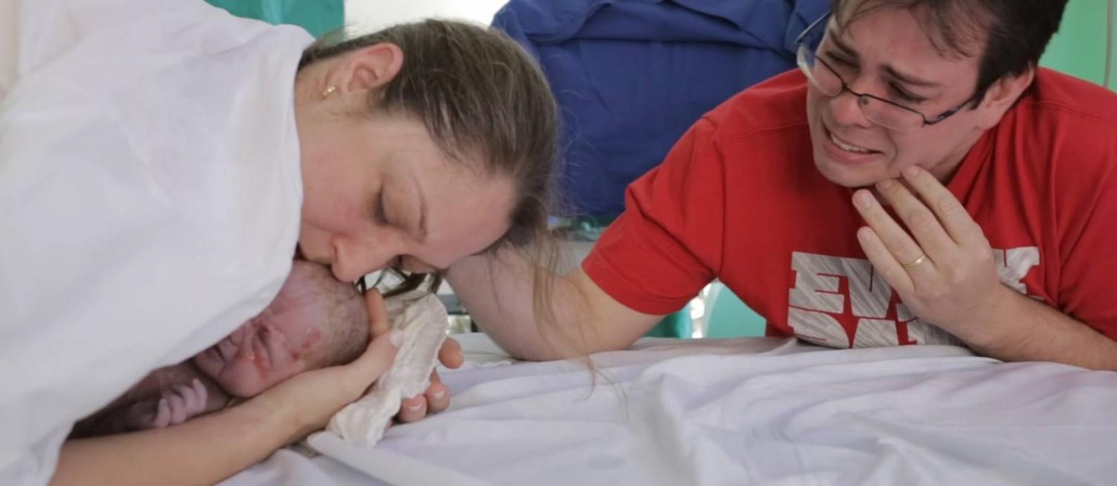 Cena do filme 'O renascimento do parto 2', de Eduardo Chauvet Foto: Divulgação