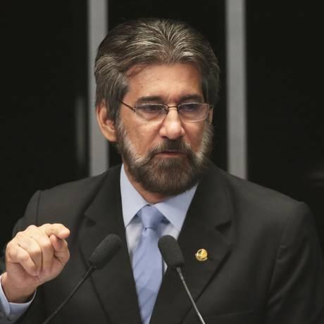 Valdir Raupp no senado Foto: Jorge William / Agência O Globo