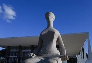 A sede do STF, em Brasília Foto: Michel Filho / Agência O Globo