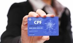 Cadastro de Pessoas Físicas, o CPF, virou mania nacional Foto: Divulgação