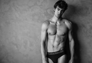Iago Botelho: sucesso na moda Foto: Jeff Segenreich