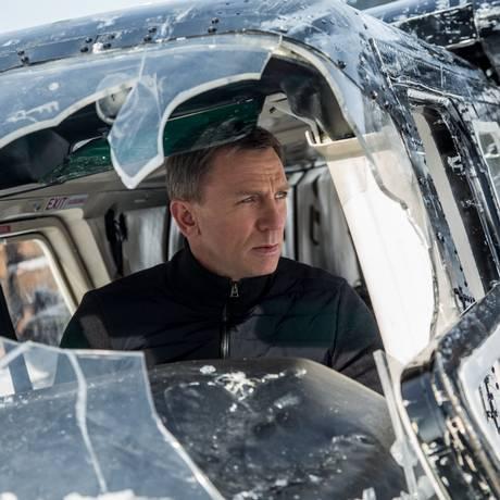 Daniel Craig: ator recebeu US$ 25 milhões para voltar a viver James Bond Foto: Jonathan Olley / jonathan olley