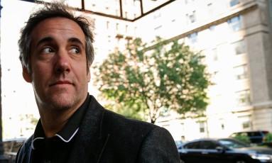 Advogado pessoal de Trump, Michael Cohen Foto: BRENDAN MCDERMID / REUTERS