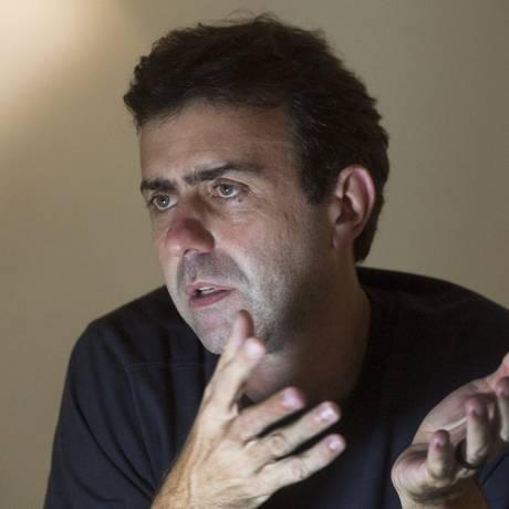 Deputado estadual Marcelo Freixo, do PSOL Foto: Antonio Scorza / Agência O Globo