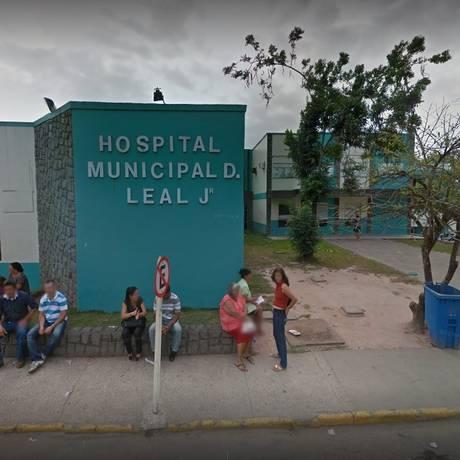 O hospital onde ocorreu o tiroteio Foto: Google Street View / Reprodução