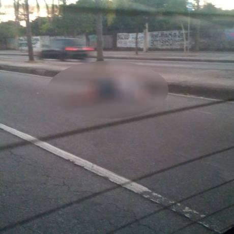 O homem morto no tiroteio com os PMs Foto: Redes sociais