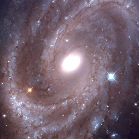 Imagem da galáxia NGC 4603, observada pelo Telescópio Hubble Foto: Jeffrey Newman/Nasa