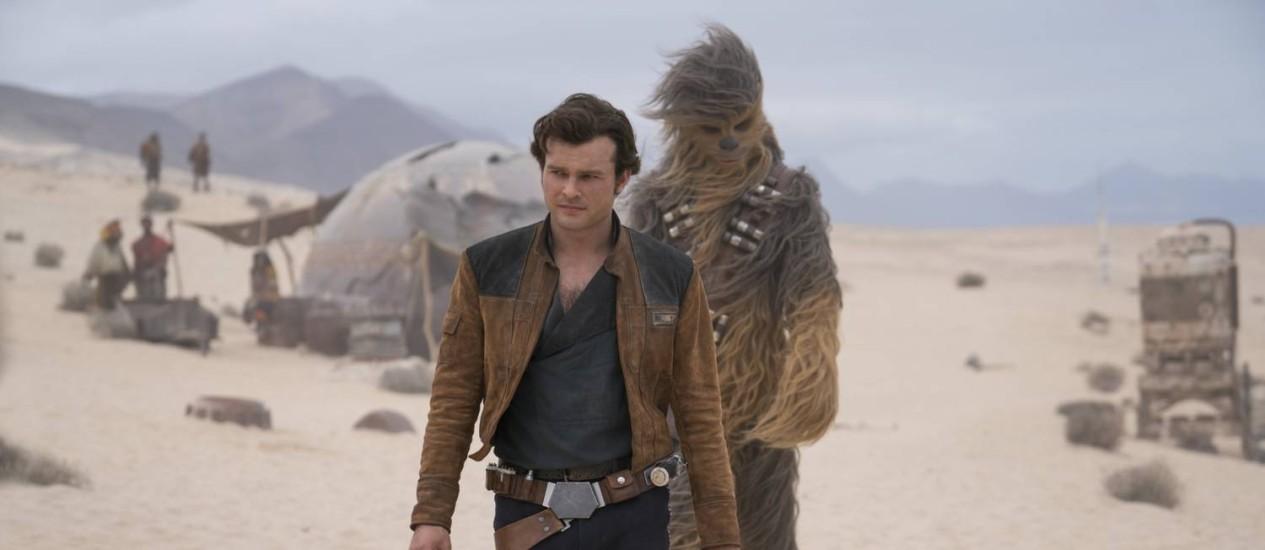 Alden Ehrenreich interpreta Han Solo Foto: Jonathan Olley / Jonathan Olley /Lucasfilm Ltd.