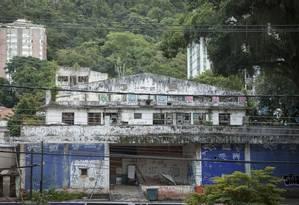 Abandono. Projeto apresentado prevê a criação de um parque sustentável que será comercial e residencial Foto: Analice Paron / analice paron/07-07-2016