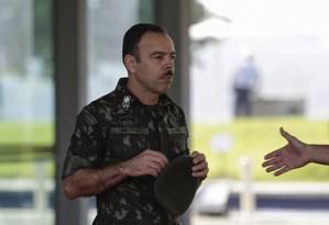 Richard Nunes: Reorientação da estratégia de investigação do assassinato de Marielle Foto: Gabriel de Paiva em 26/04/2018 / Agência O Globo