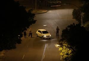 Reconstituição do assassinato da vereadora do PSOL, Marielle Franco, e de Anderson Gomes Foto: Alexandre Cassiano