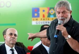 Lula e o então presidente do Banco Central, Henrique Meirelles Foto: CELSO JUNIOR / ELSO JUNIOR/AGÊNCIA ESTADO/AE 13/08/2009