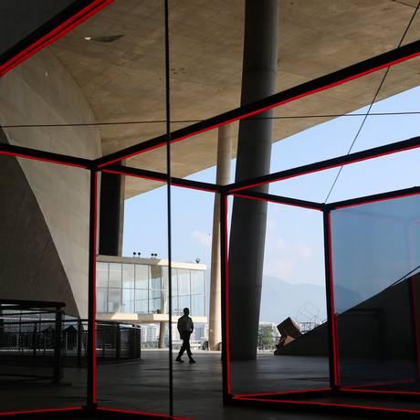 A Cidade das Artes, na Barra: após construção consumir R$ 883 milhões, espaço não consegue fechar as contas e aposta na diversidade Foto: Custódio Coimbra