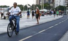 Mais de 30% dos moradores de Copacabana já são idosos. Foto: Uanderson Fernandes / Agência O Globo