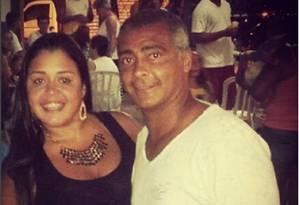 O senador Romário e sua irmã, Zoraidi de Souza Faria Foto: Reprodução / Instagram