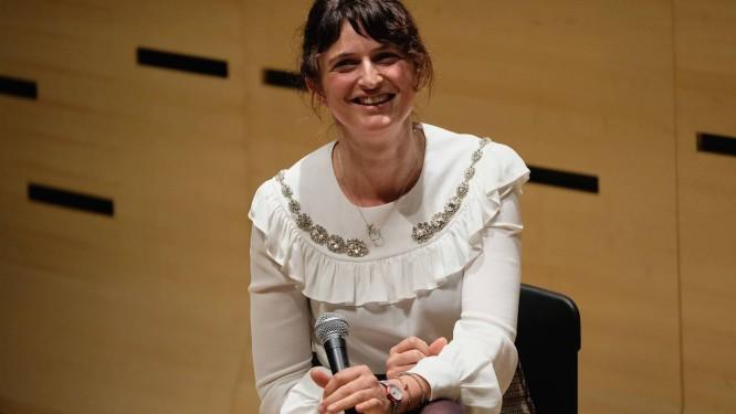 """A italiana Alice Rohrwacher, diretora de """"Lazzaro felice"""" Foto: THEO WARGO / AFP"""