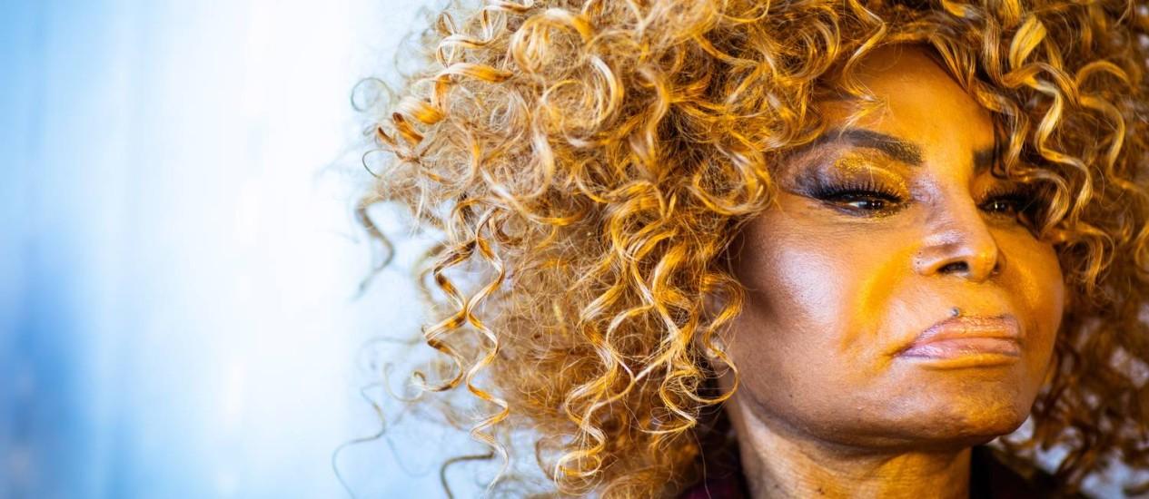 Elza Soares: show de lançamento do CD será no Sesc Vila Mariana, em São Paulo, dia 31 de maio Foto: Bárbara Lopes