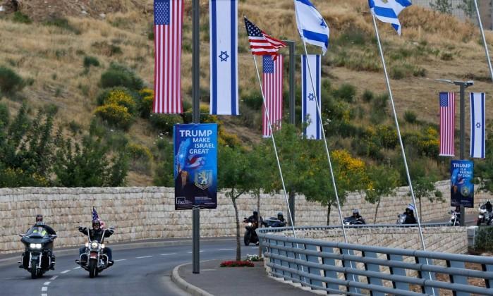 Image result for embaixada EUA em jerusalem