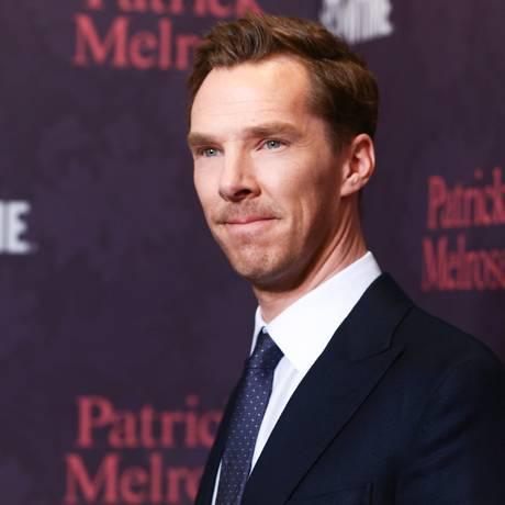 Benedict Cumberbatch na première de 'Patrick Melrose', em abril Foto: Rich Fury / AFP