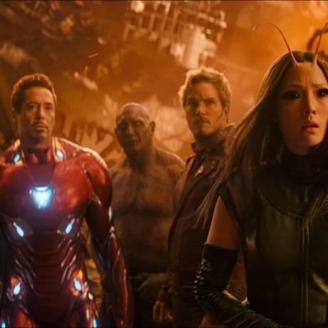 'Vingadores: Guerra infinita' já é quinta maior bilheteria da história do cinema Foto: AP
