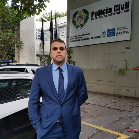 Renato Darlan pede transferência de Orlando de Curicica para carceragem da DAS Foto: Marcos Nunes / Agência O Globo