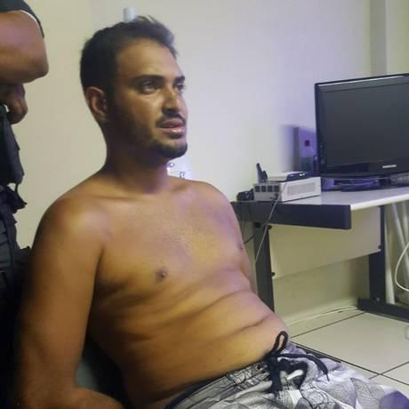 Apontado como ex-gerente do tráfico da Rocinha foi preso nesta segunda-feira Foto: Reprodução