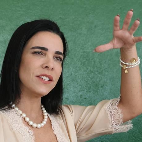 Michella Marys, ex-mulher do juiz Roberto Caldas Foto: Givaldo Barbosa / Agência O Globo