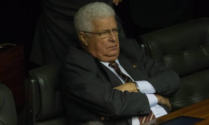 Nelson Meurer pode se tornar o primeiro político com foro privilegiado a ser condenado pela Lava-Jato Foto: André Coelho / Agência O Globo