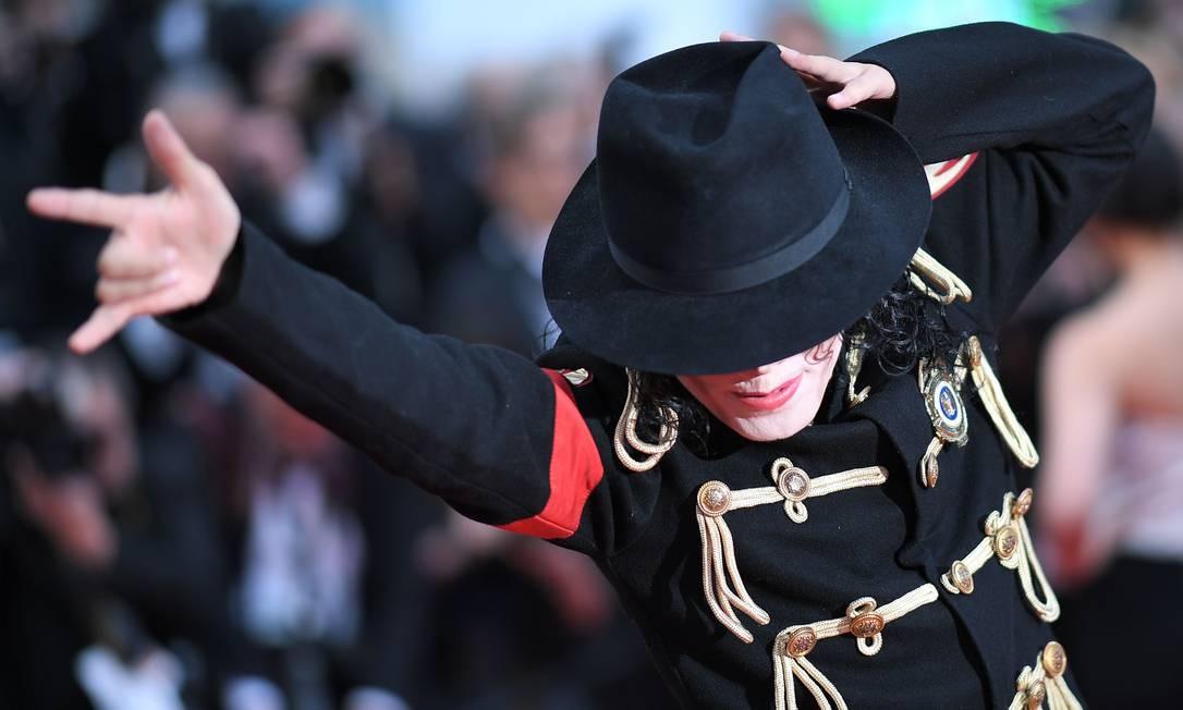 O sósia de Michael Jackson LOIC VENANCE / AFP